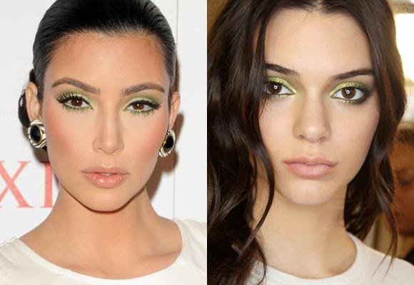 greenery makeup