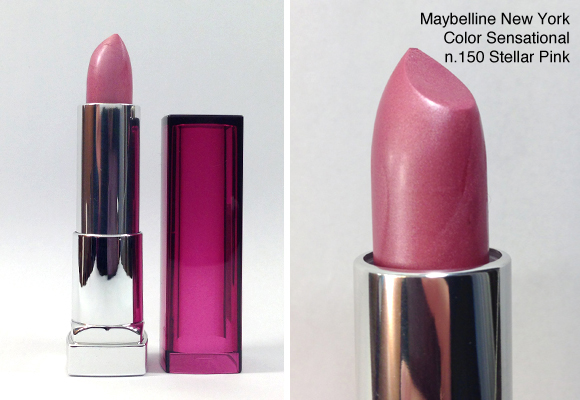 rossetto maybelline new york color sensational 150 stellar pink