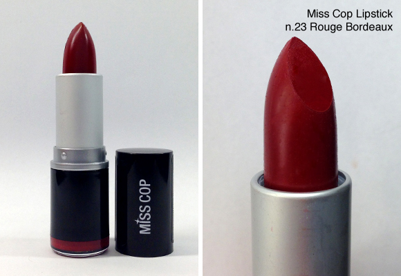 rossetto miss cop lipstick 23 rouge bordeaux