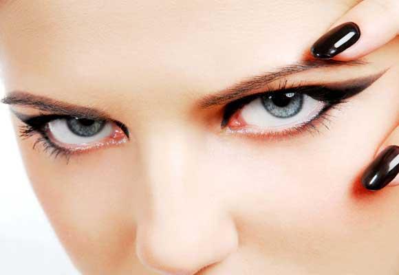 occhi allungati