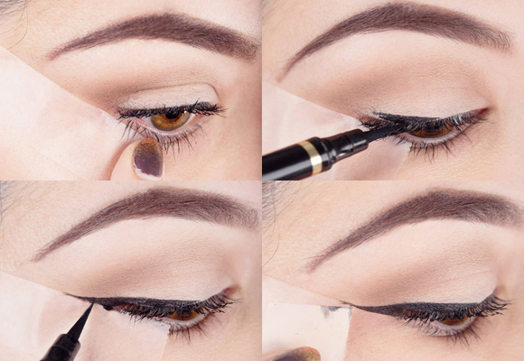 eyeliner con scotch