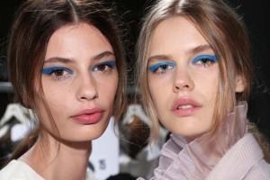 makeup azzurro