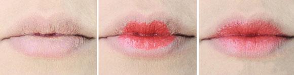 passaggi labbra ombrè