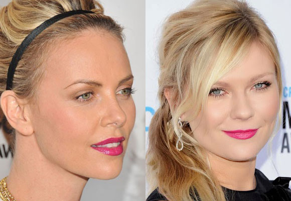 il trucco di Charlize Theron e Kirsten Dunst