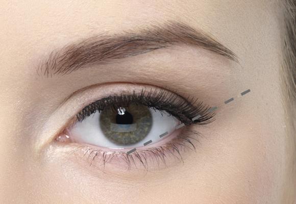 occhio linea naturale