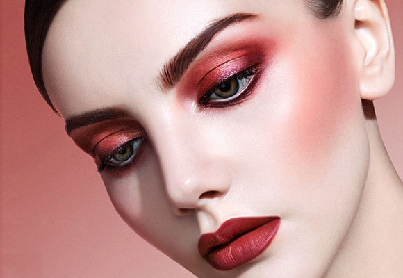 beauty make up color marsala