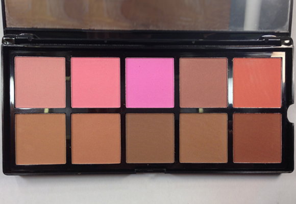 palette elf blush terre