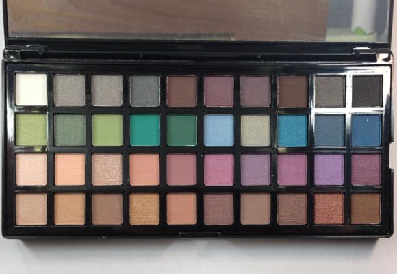 palette elf colori ombretti