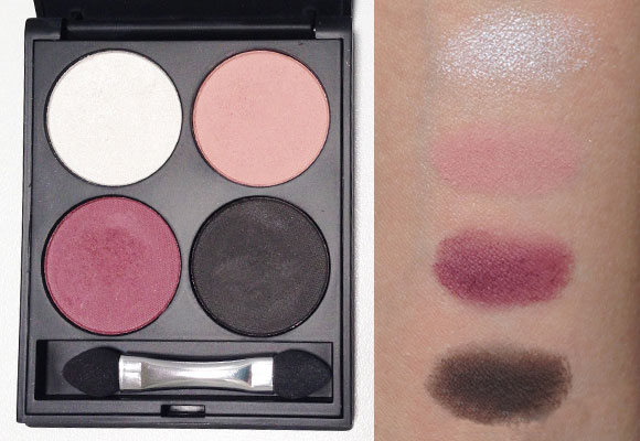 palette ombretti free age swatch
