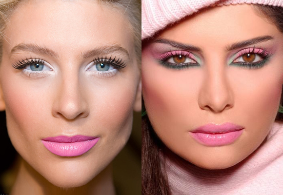 make up colori pastello