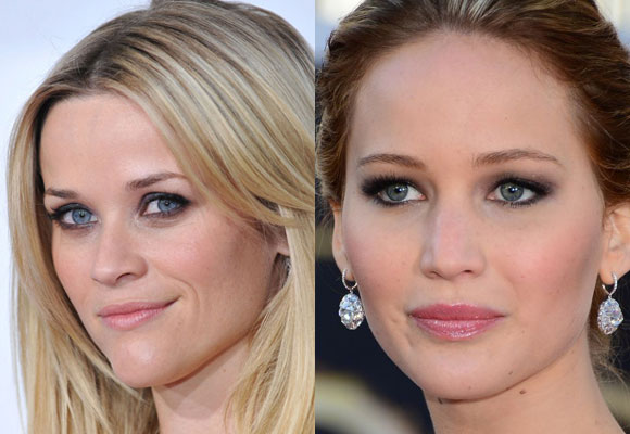 il trucco di Reese Witherspoon e Jennifer Lawrence