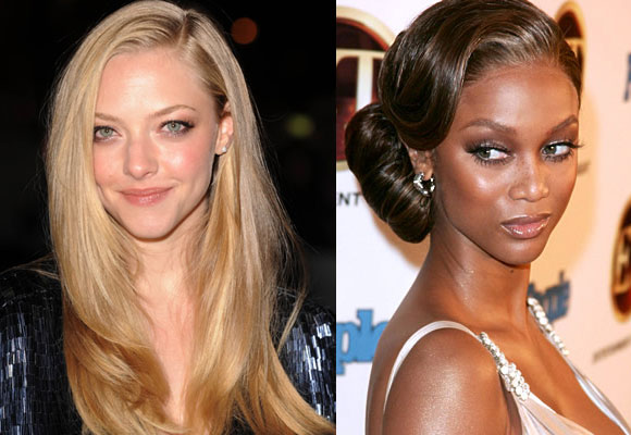 make-up Amanda Seyfried e Tyra Banks